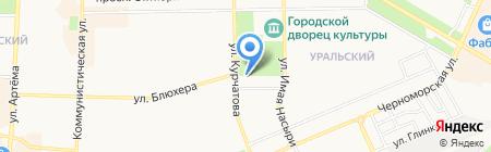 Эра на карте Стерлитамака