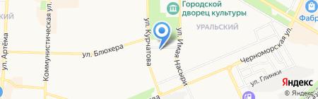 Межрайонный отдел вневедомственной охраны по г. Стерлитамаку на карте Стерлитамака