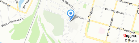Стройстандарт на карте Уфы