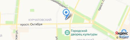 УГНТУ на карте Стерлитамака