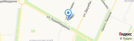 Городская поликлиника №6 на карте Стерлитамака