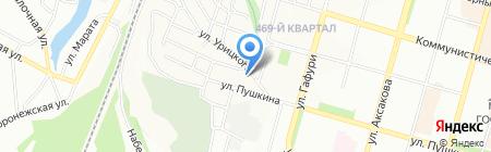 Форт Диалог на карте Уфы