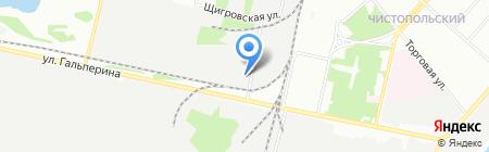 Мирмекс на карте Перми