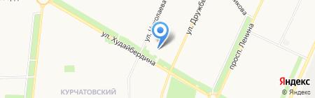Станция детского и юношеского туризма и экскурсий на карте Стерлитамака