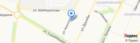 Почтовое отделение №121 на карте Стерлитамака