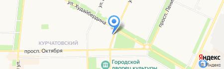 Фамилия на карте Стерлитамака