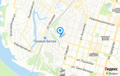 Местоположение на карте пункта техосмотра по адресу г Уфа, ул Аральская, д 23