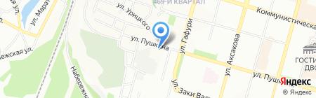 Грандекс на карте Уфы