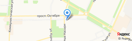 Банкомат АКБ Абсолют Банк на карте Стерлитамака