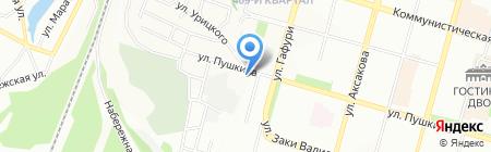 Авантаж-мебель на карте Уфы