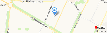 Эдельвейс на карте Стерлитамака