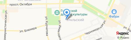 Народная Лавка на карте Стерлитамака