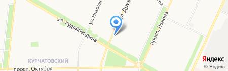 Кит пласт на карте Стерлитамака