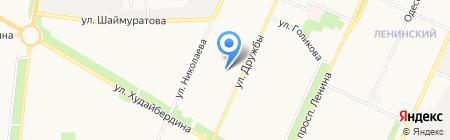 Юна на карте Стерлитамака