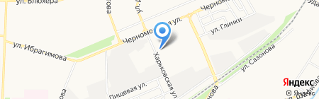 Уралтехстрой на карте Стерлитамака