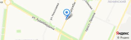 Талисман на карте Стерлитамака