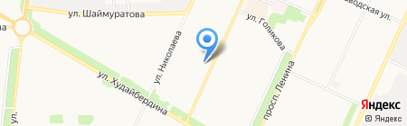 Пятёрочка на карте Стерлитамака