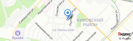 Детский сад №395 на карте Перми