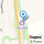 Лукойл-Уралнефтепродукт на карте Чесноковки