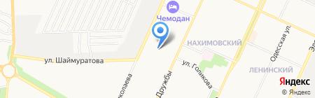 Оздоровительный центр на карте Стерлитамака