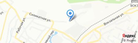 Куганакский кирпичный завод на карте Уфы