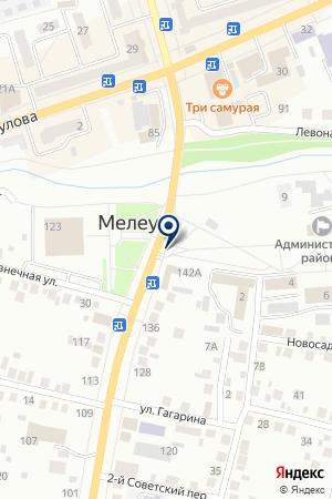 АНВИС на карте Мелеуза