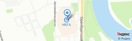 Change на карте Уфы