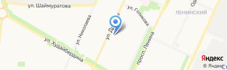 Гимназия №2 на карте Стерлитамака