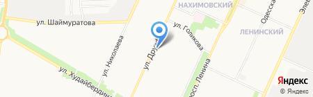 Компания по изготовлению и реставрации памятников на карте Стерлитамака
