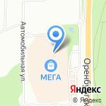 Mag Jeans company на карте Уфы