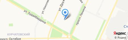 БРККиИ на карте Стерлитамака