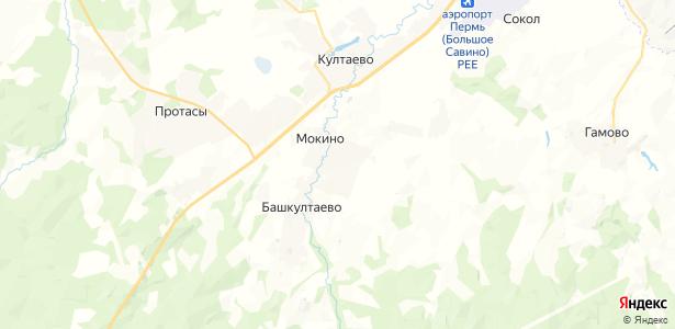 Мокино на карте