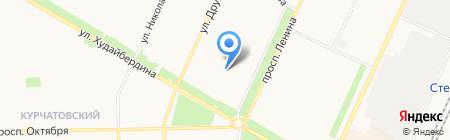 Карине на карте Стерлитамака