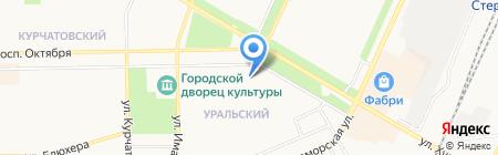 Планета-Тур на карте Стерлитамака