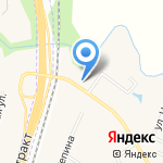 Родной на карте Чесноковки