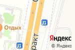 Схема проезда до компании Кафетерий в Лебяжьем