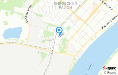 Местоположение на карте пункта техосмотра по адресу г Пермь, ул Автозаводская, д 5