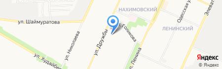 Санстрой на карте Стерлитамака