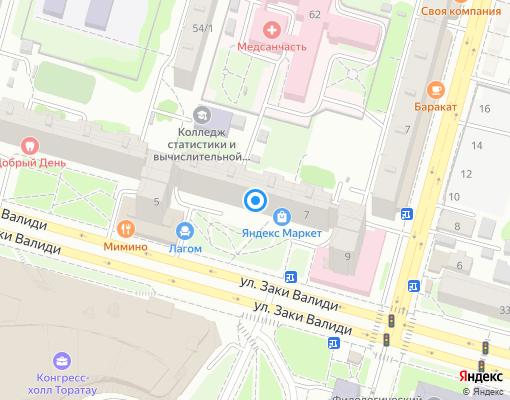 Управляющая компания «ЖЭУ №6» на карте Уфы