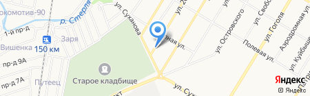 Сеть аккумуляторных центров на карте Стерлитамака