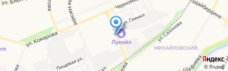 Куганакский кирпичный завод на карте Стерлитамака