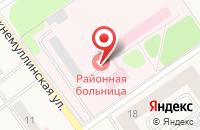 Схема проезда до компании Поликлиника в Култаево