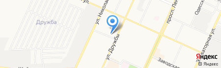 Иволга на карте Стерлитамака
