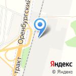 Комбинат железобетонных изделий и газобетонных блоков на карте Чесноковки
