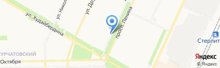 Элина на карте Стерлитамака