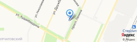 ТОРГОВЫЙ ПРОЕКТ на карте Стерлитамака