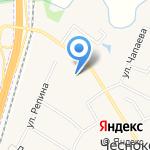 Чесноковский на карте Чесноковки