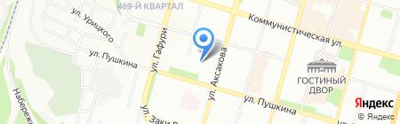 Everyday на карте Уфы