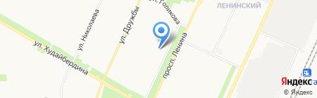 Платежный терминал ИнвестКапиталБанк на карте Стерлитамака
