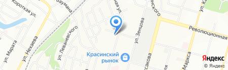 Открытая школа АНО на карте Уфы